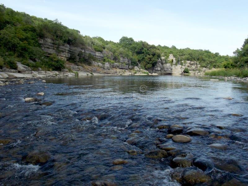 Córrego selvagem em França foto de stock royalty free