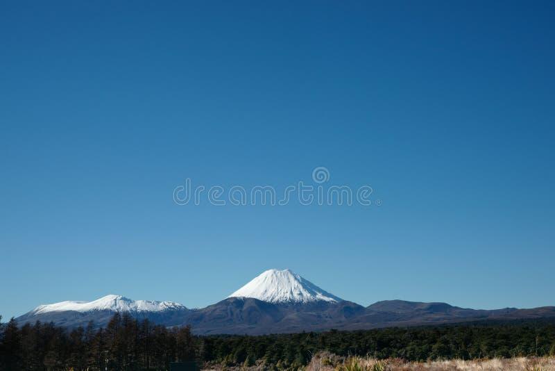 Cône volcanique, support Ngarauhoe, Nouvelle Zélande. photographie stock libre de droits