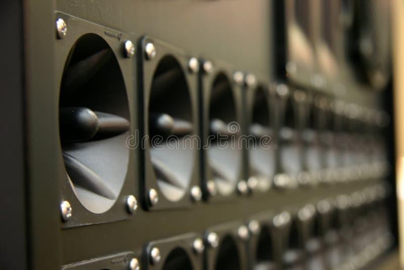 Cônes de haut-parleur photos stock