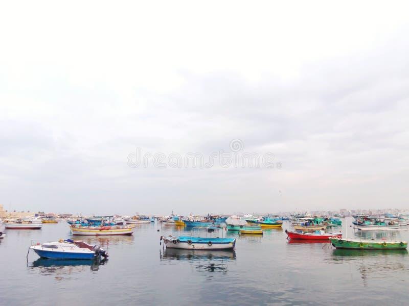 Côté d'anthère de la mer Méditerranée photo stock