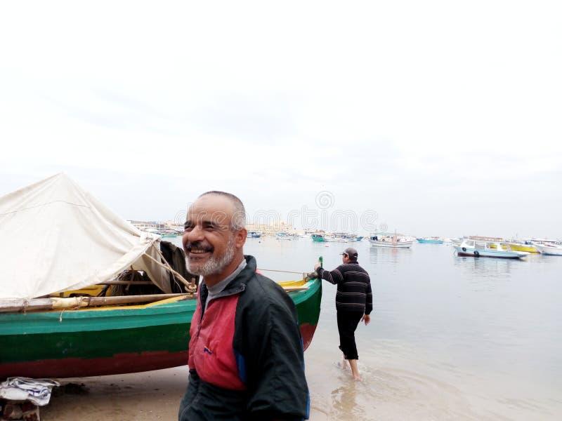 Côté d'anthère de la mer Méditerranée image stock