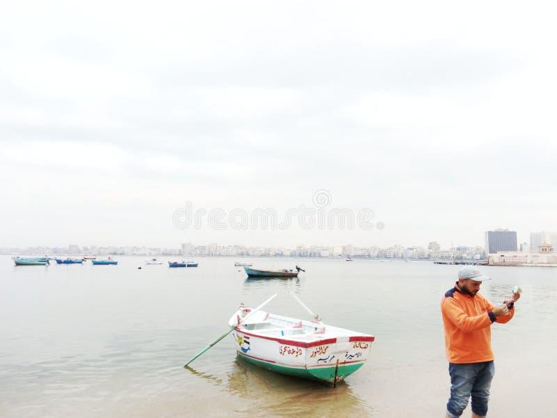Côté d'anthère de la mer Méditerranée photos stock
