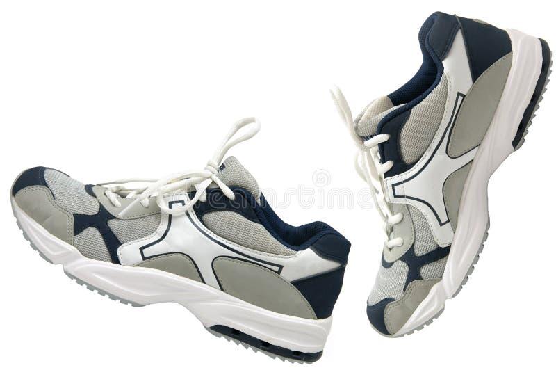 Côté de chaussures de sports photo libre de droits