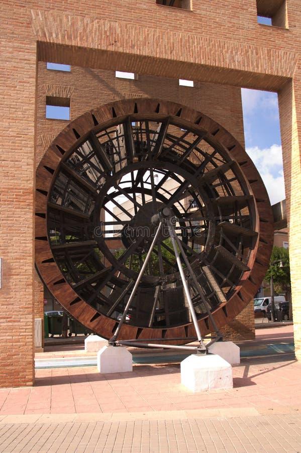 Côté de la grande roue de L'Alcudia à Valence photographie stock