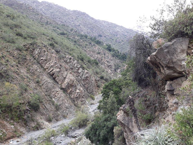 Côté de montagne photo stock