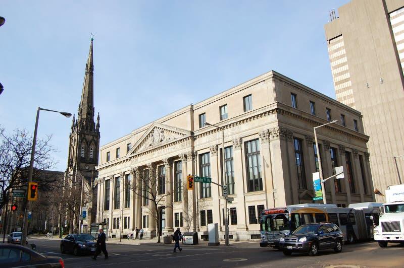 Côté de Montréal à Hamilton, Ontario, Canada photos stock