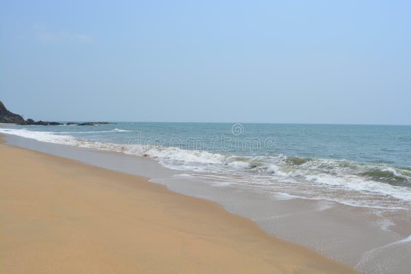 Côté de plage photos stock