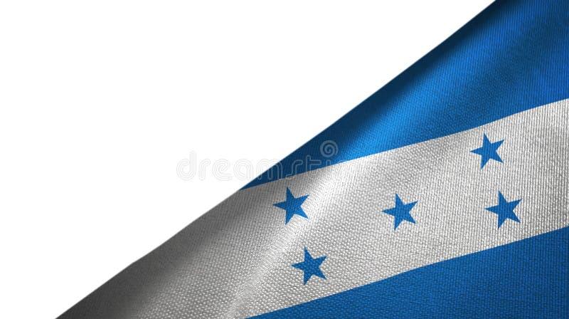 Côté droit de drapeau du Honduras avec l'espace vide de copie illustration libre de droits