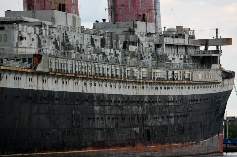 Côté droit du revêtement d'océan solides solubles Etats-Unis à Philadelphie photo libre de droits