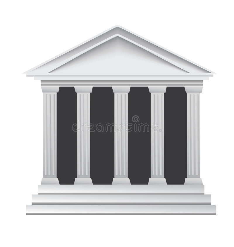 Côté historique du grec ancien de fléaux illustration libre de droits