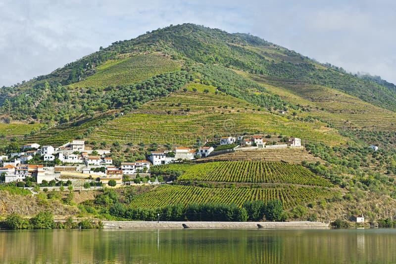 Côtés du fleuve Douro photos libres de droits