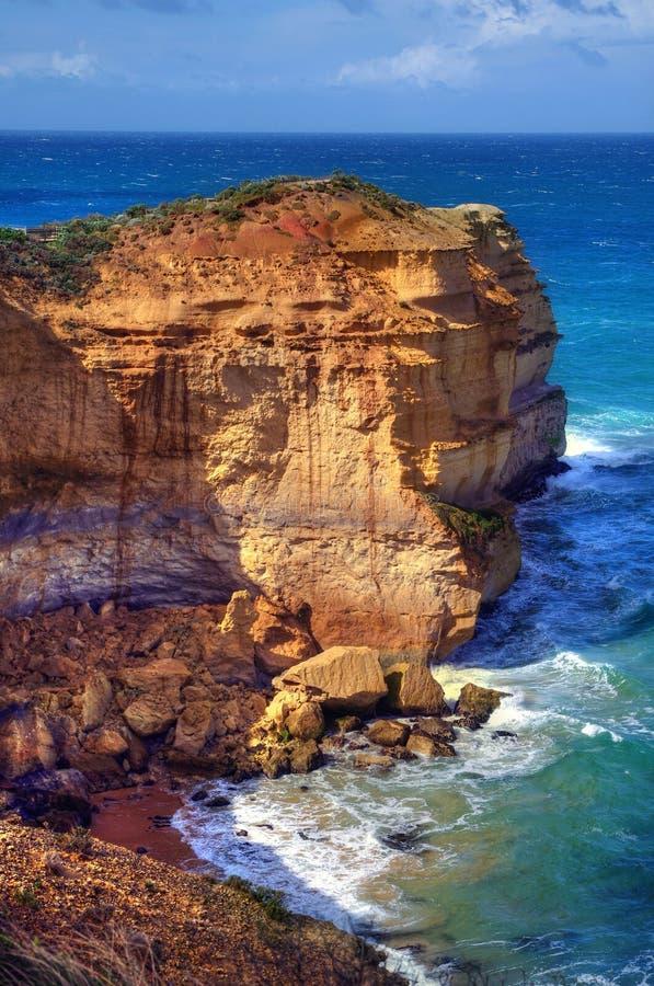 Côte australienne photo stock