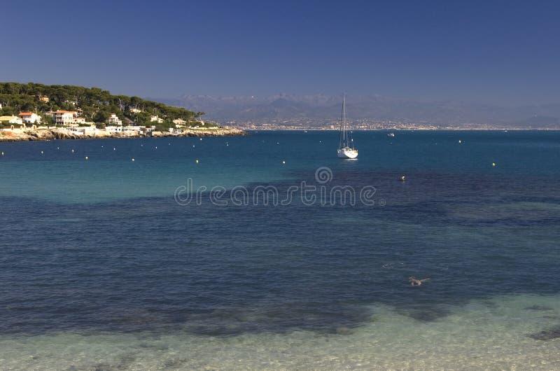 côte d'Antibes photos libres de droits
