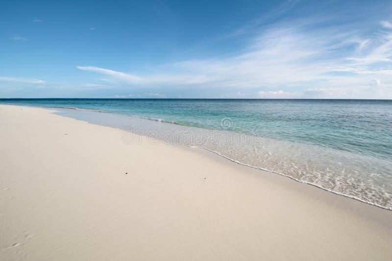 Côte d'océan de calme photos libres de droits