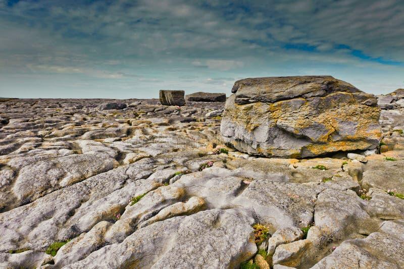 Côte de Berren, Irlande photo libre de droits