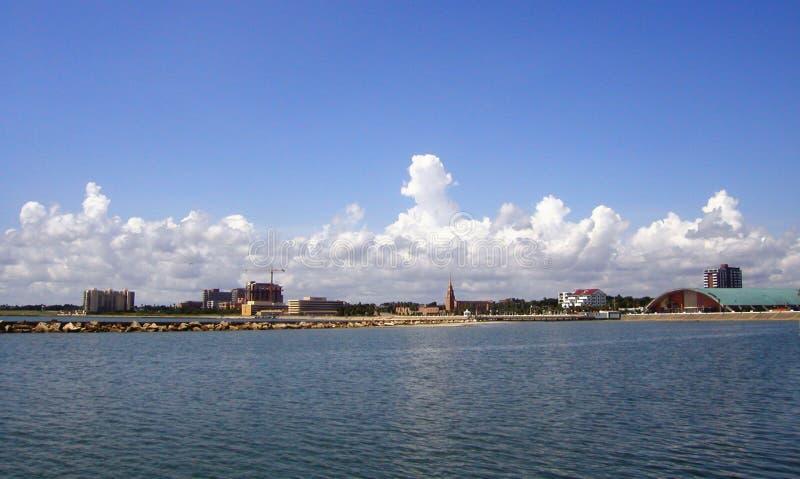 Côte de Corpus Christi photographie stock libre de droits