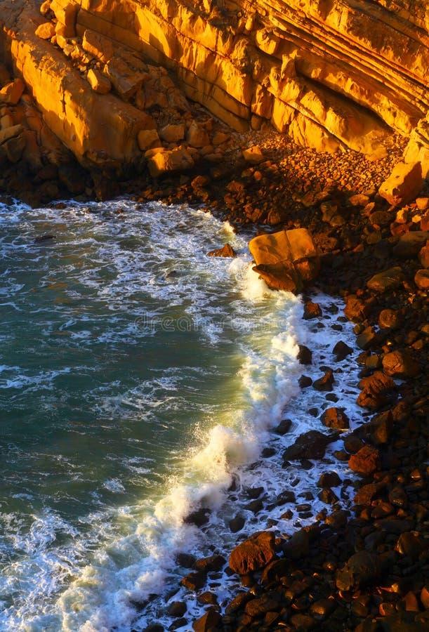 Côte de l'Océan Atlantique images libres de droits
