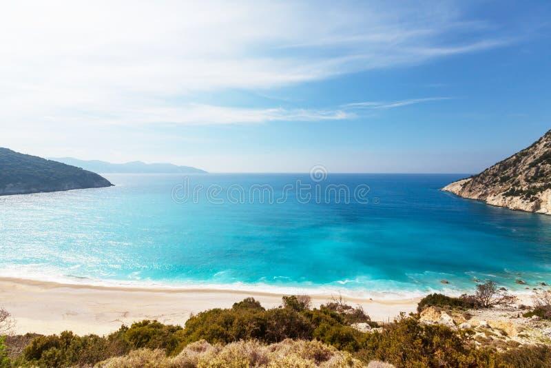 Côte de la Grèce images libres de droits