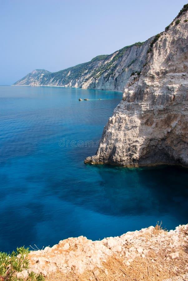 Côte de la Grèce photos libres de droits
