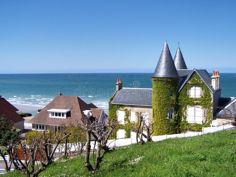 Côte de la Normandie photos libres de droits