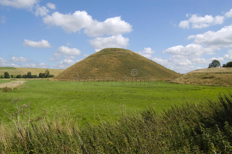 Côte de Silbury photos stock