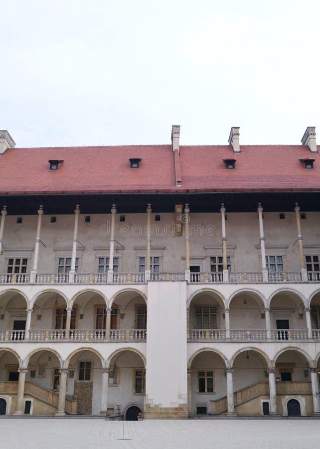 Côte de Wawel à Cracovie en Pologne image stock