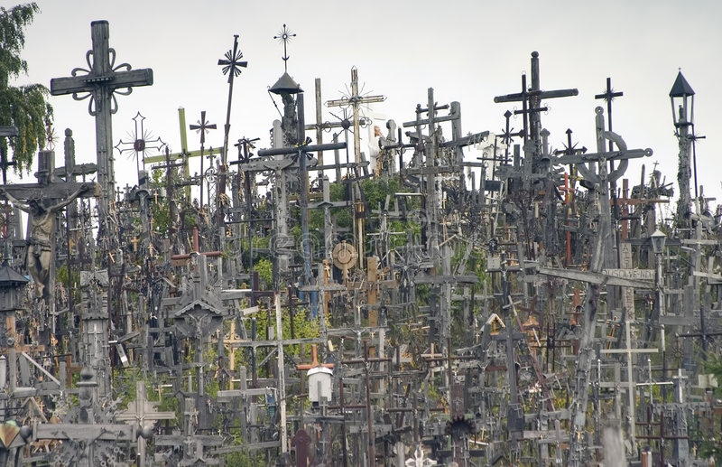 Côte des croix II photographie stock libre de droits