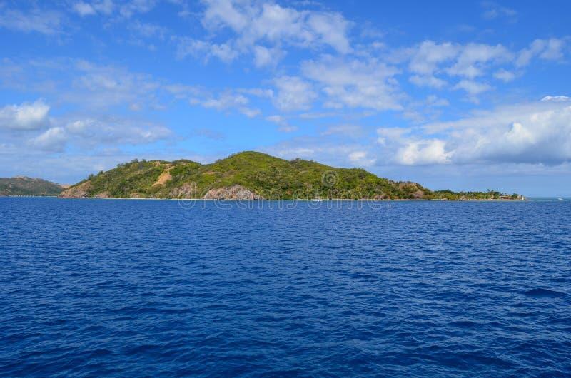 Côte des Fidji, groupe d'île de Mamanucas images libres de droits