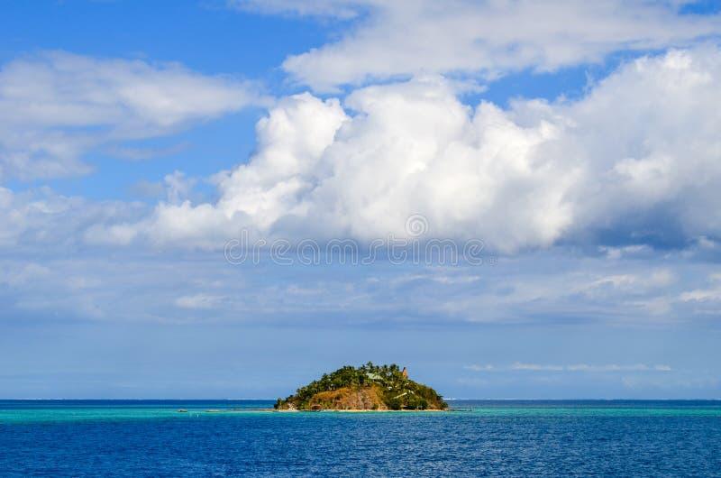 Côte des Fidji, groupe d'île de Mamanucas photos stock