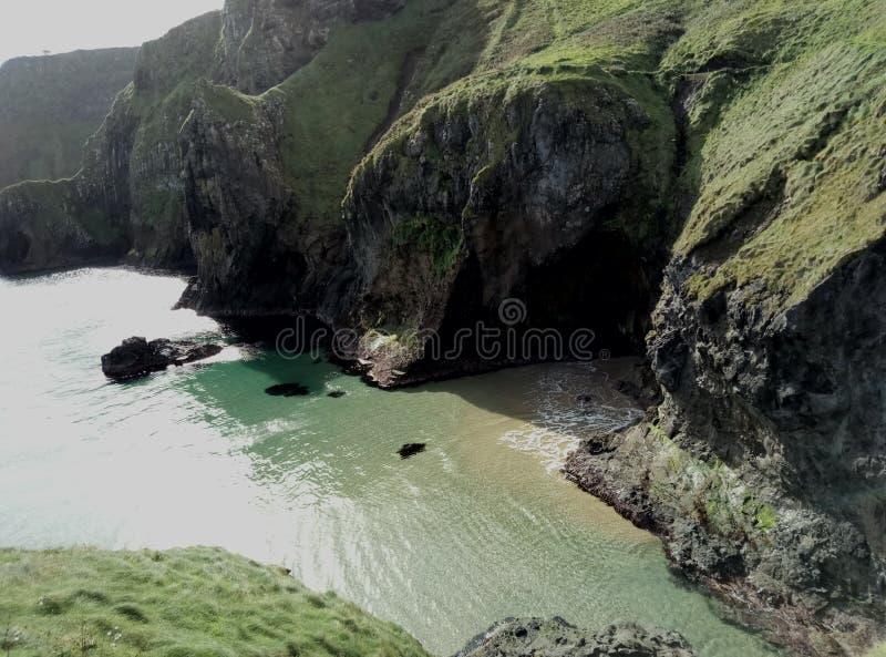 Côte du nord Irlande du Nord photos stock