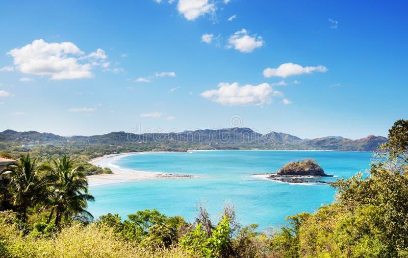 Côte en Costa Rica photo stock