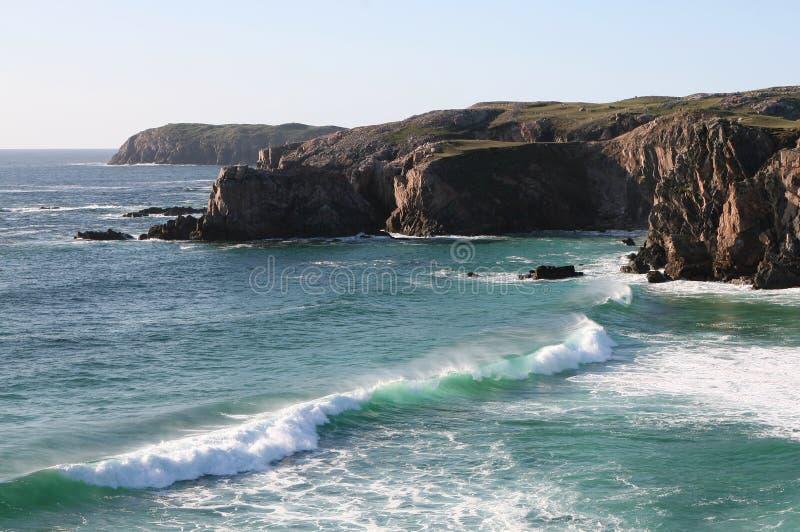 Côte Hebridean photo stock