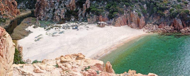 Côte Paradiso - plage de LI Cossi (Sardaigne - île) photo libre de droits