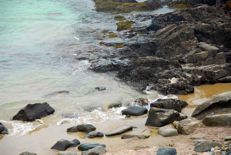 Côte rocheuse image libre de droits