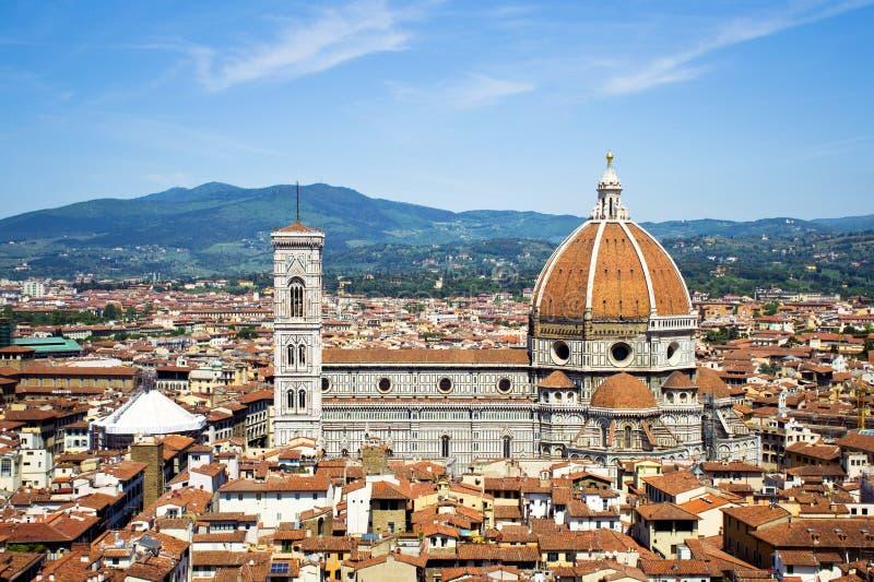 A cúpula de Brunelleschi fotos de stock