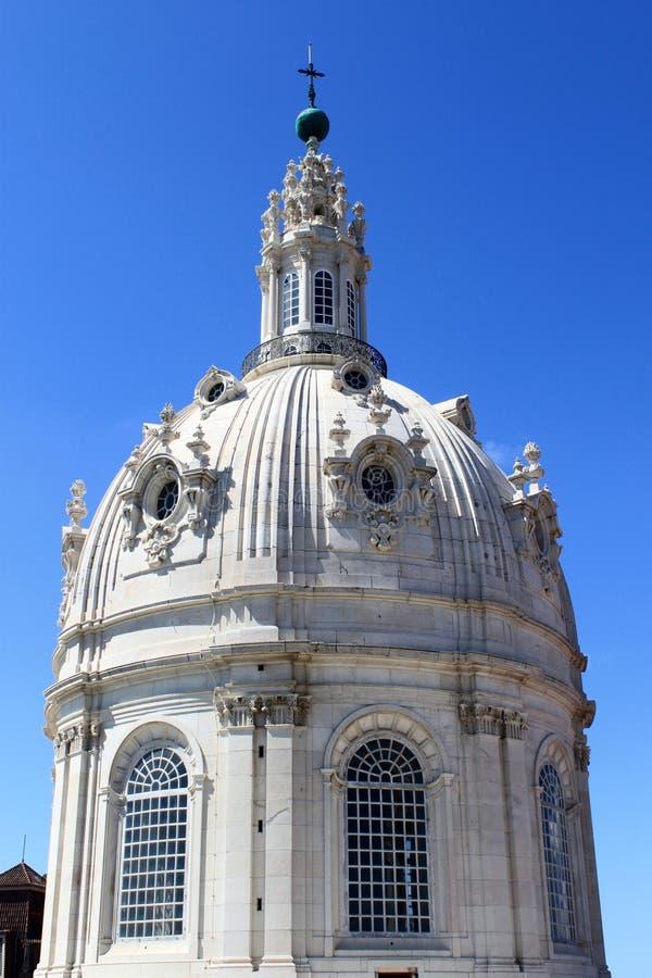 Cúpula de la basílica DA Estrela fotos de archivo