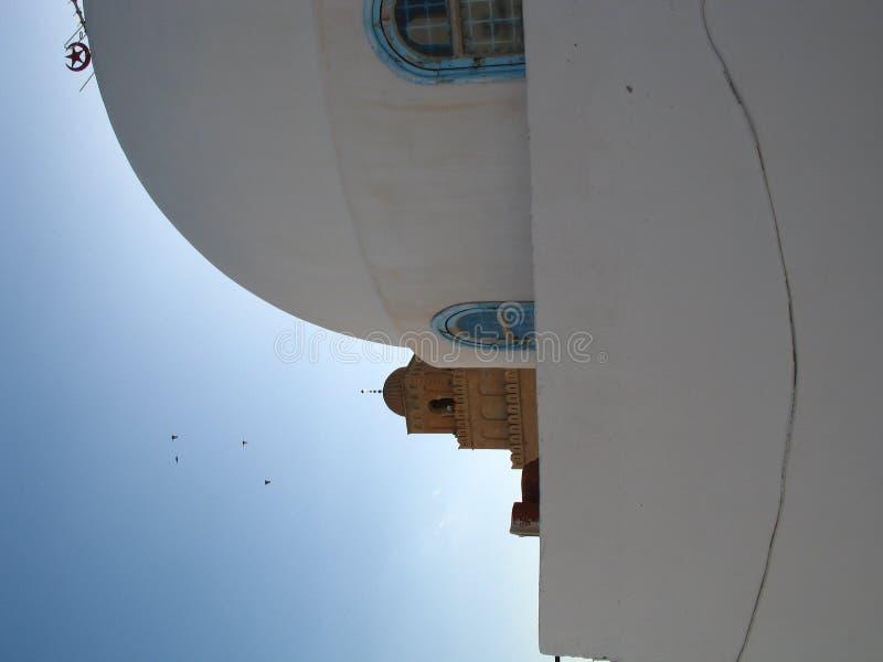 Cúpula de la casa tunecina foto de archivo libre de regalías
