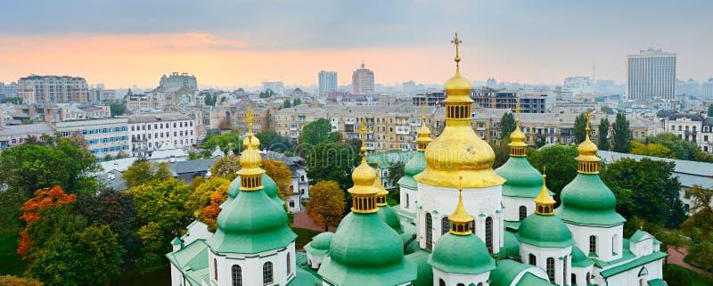 Cúpula de St Sophia Cathedral kiev foto de archivo libre de regalías