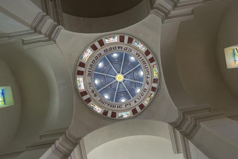 Cúpula del Parroquia San Pedro Claver imagen de archivo