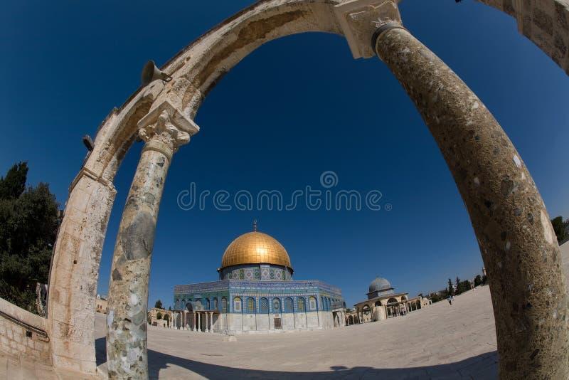Cúpula do ouro de Jerusalem-2 imagens de stock