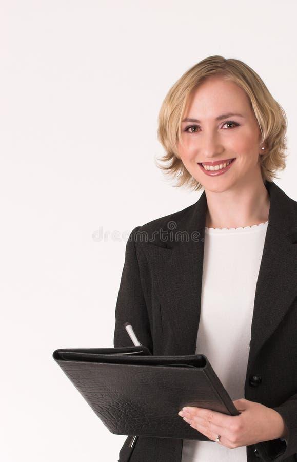 c女性检查员 免版税库存照片