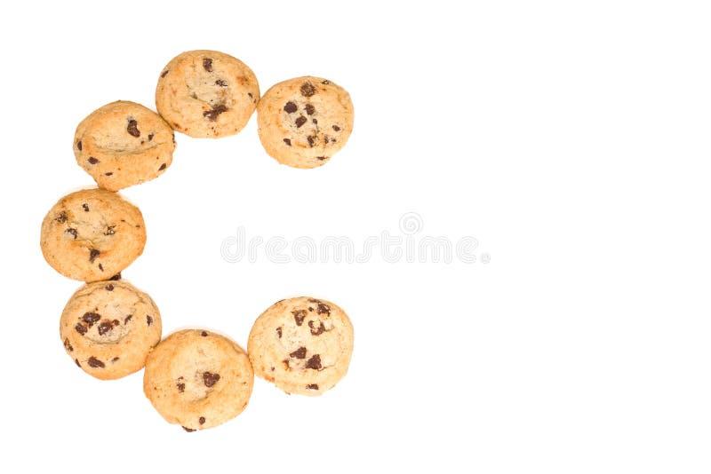 c筹码巧克力曲奇饼 免版税库存图片