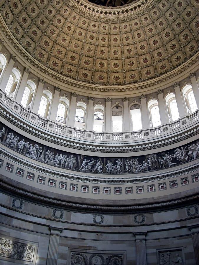 c资本d圆形建筑的华盛顿 库存图片