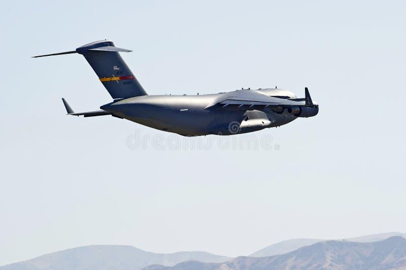 C-17军用货运航空器 免版税库存图片