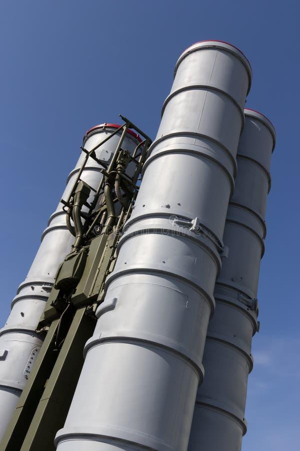 C-300地对空导弹系统 库存图片