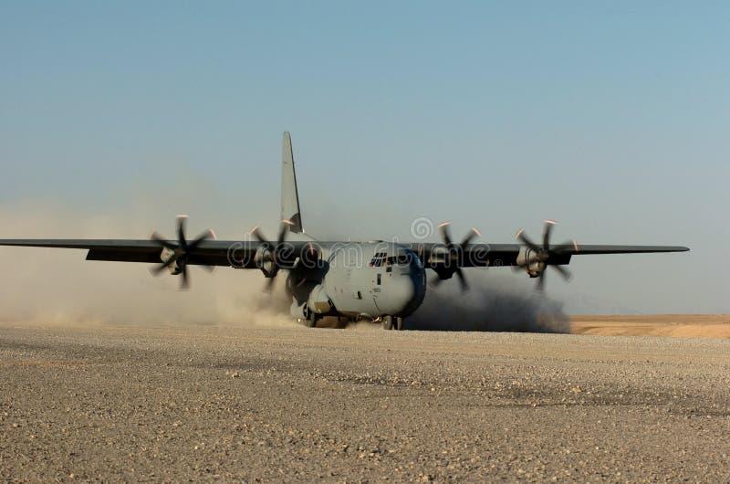 C-130 hercules stock foto's