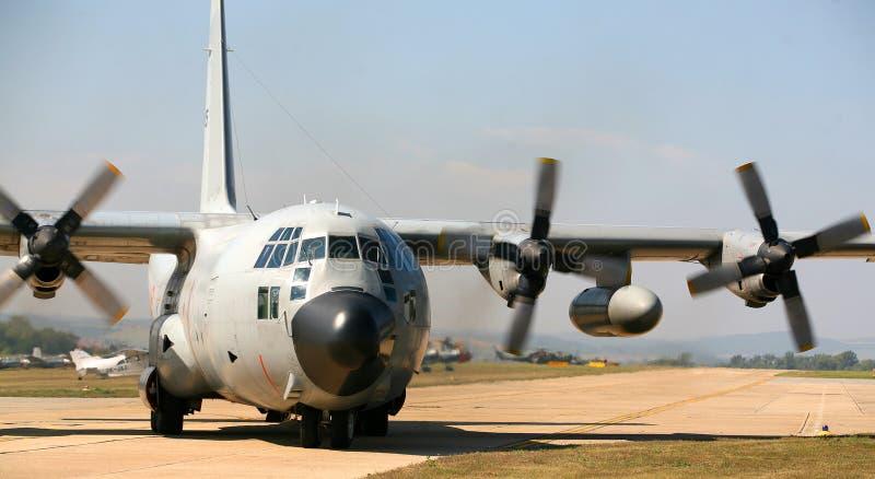 C - 130 Hercules fotos de stock royalty free
