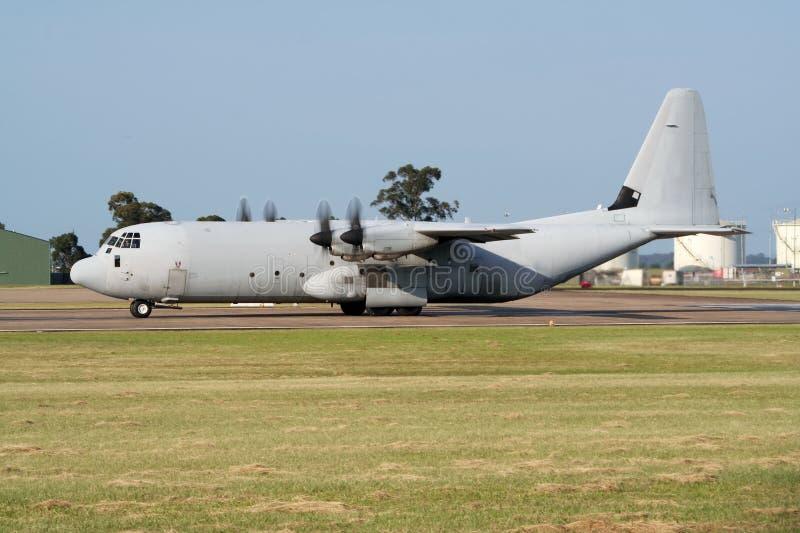 C-130 Herkules lizenzfreies stockbild