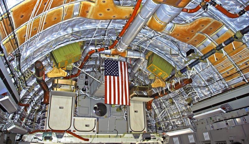 C-17 straalbinnenland Globemaster stock afbeelding