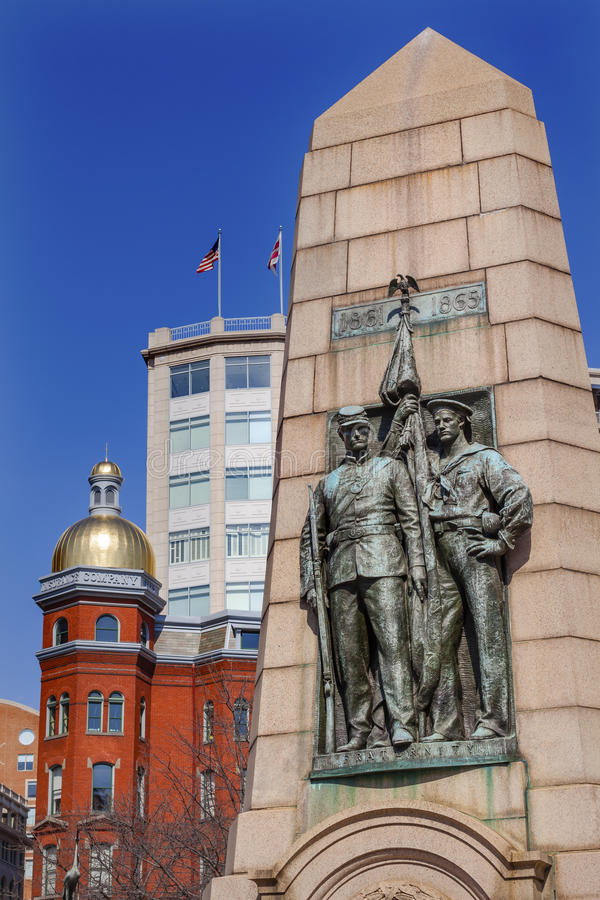C.C. de GAR Civil War Memorial Washington imagem de stock